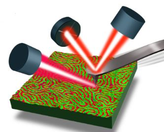 Tapping AFM-IR schematic